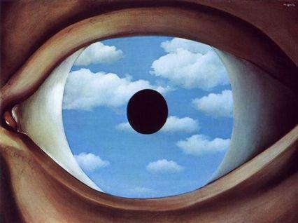 the false mirror_rene magritte